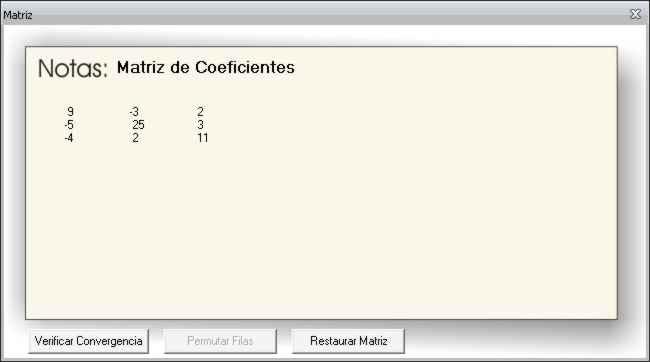 Coeficientes